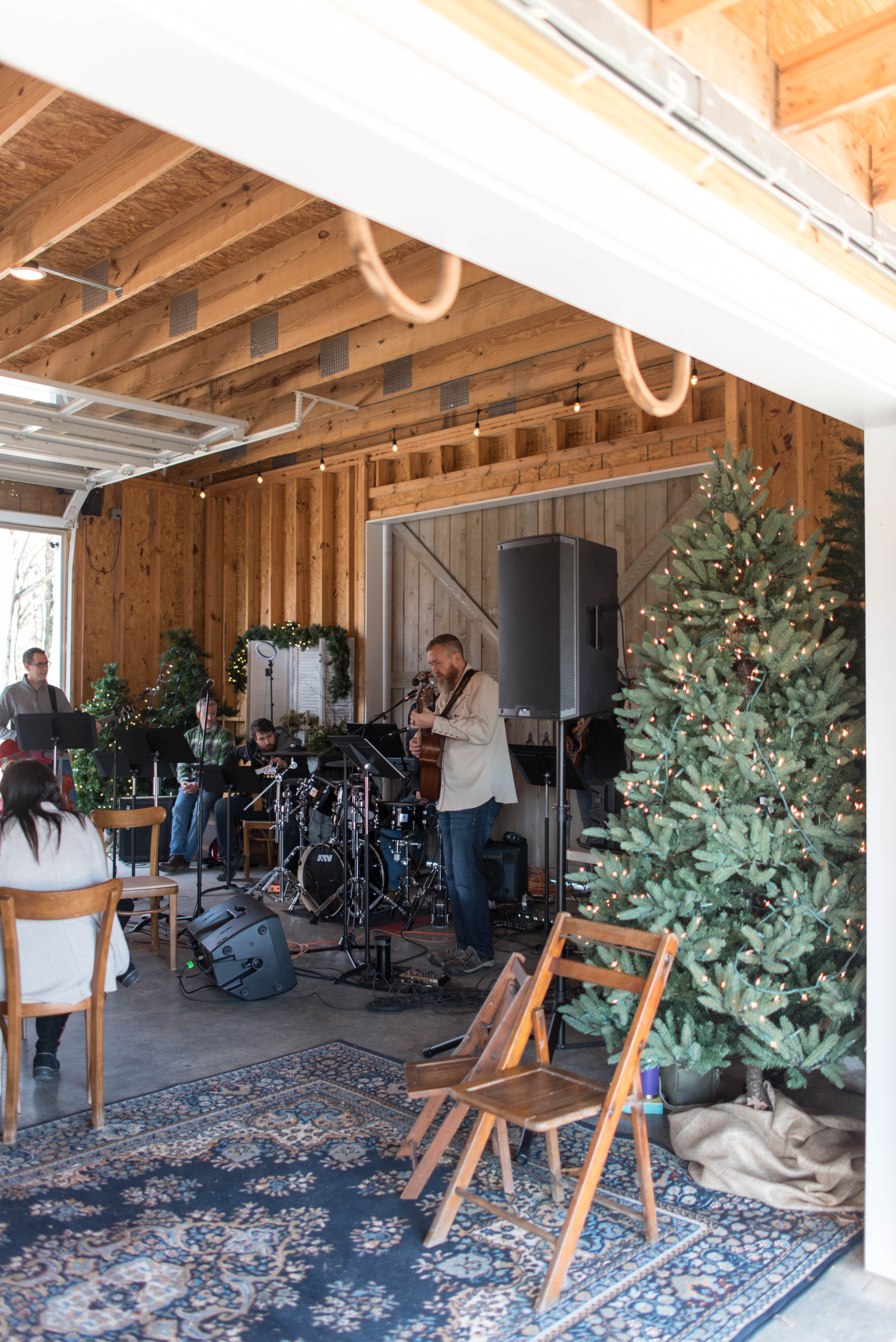 Band Performs Sweethaven Lavender Farm