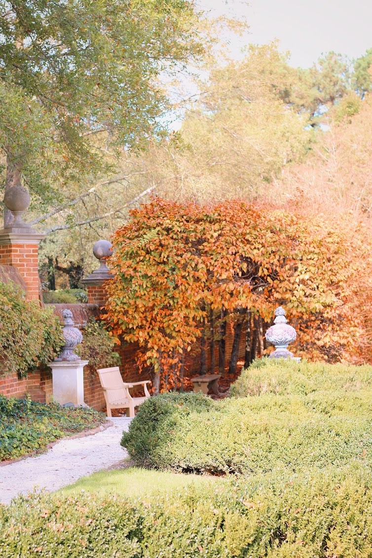 Garden at Colonial Williamsburg