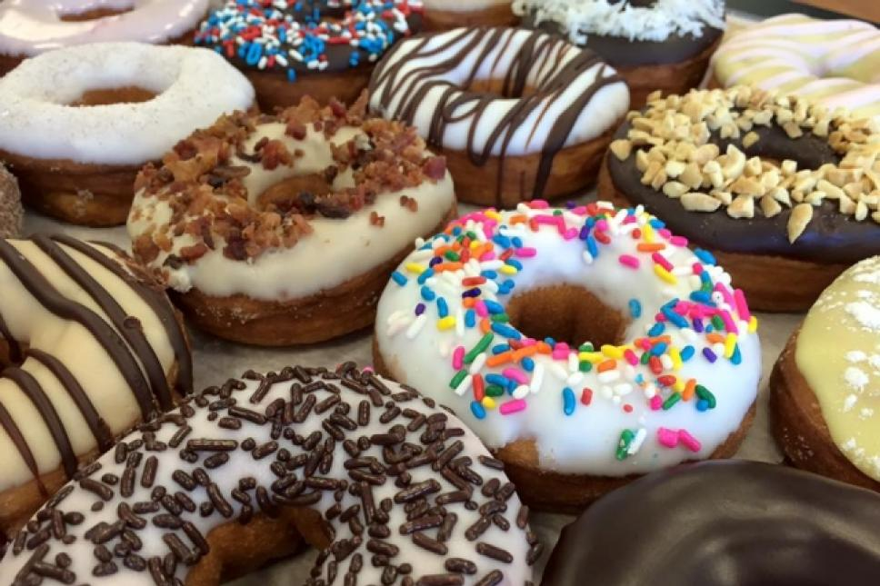 Just a sampling of our donuts!