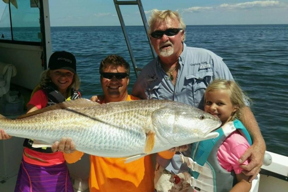 Award winning fishing charters!