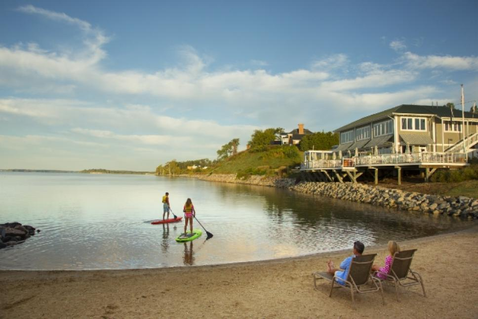 Stand Up Paddleboards SUPs at Kingsmill Marina