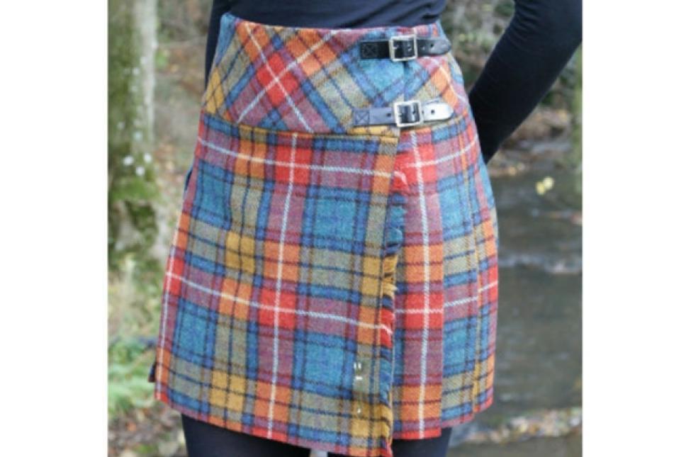 Ladies' kilt skirt