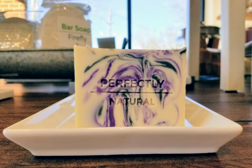 Local Artisan Soap is both Beautiful and an Affordable Luxury at Perfectly Natural Soap