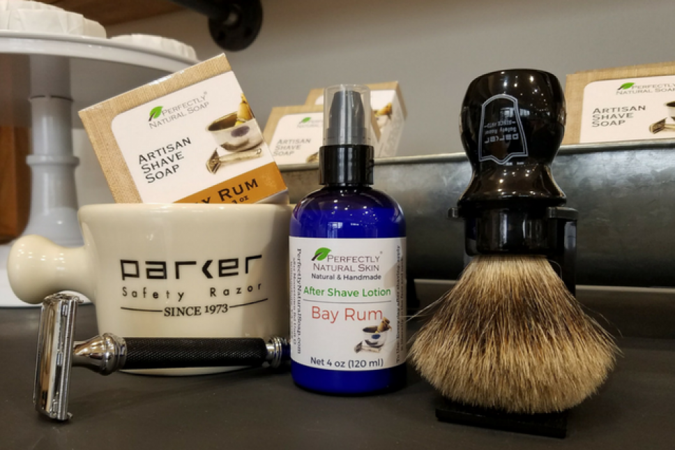 Classic Shave Soaps and Wet Shaving Gear at Perfectly Natural Soap