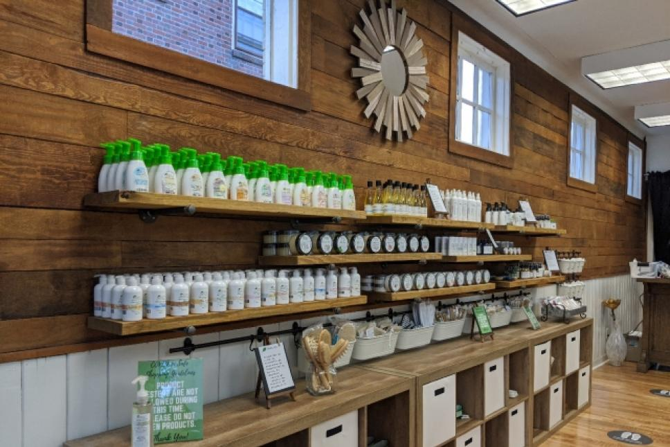 Alt View Inside Perfectly Natural Soap on Prince George St