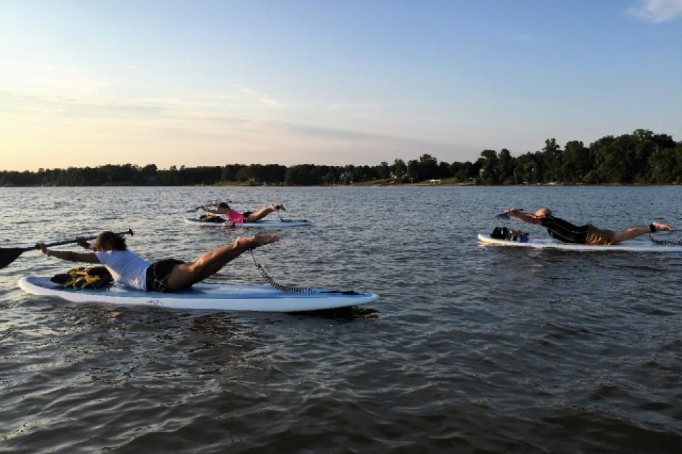 Paddle Fit on the James River