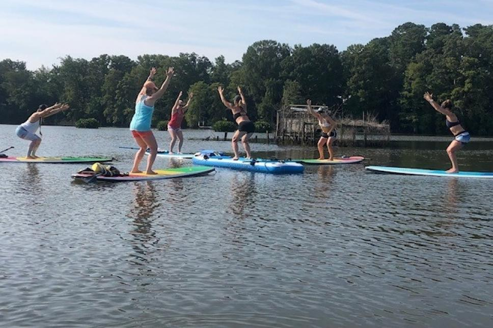 All Levels SUP Yoga on Gordon's Creek