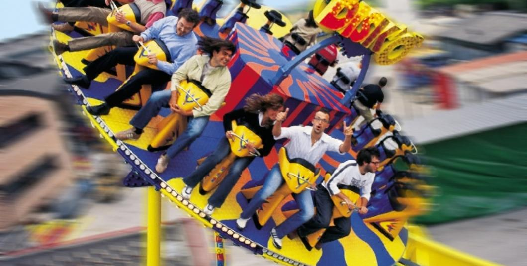 The DISK'O' thrill ride