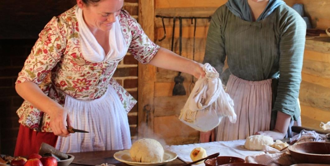 Secrets of figgy pudding are revealed at the American Revolution Museum at Yorktown.