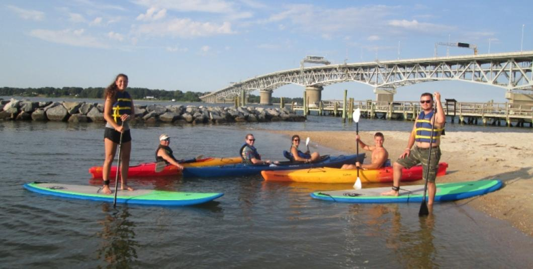 Paddle board rentals are in 2 - hour increments and include equipment, life jackets, an orientation, and a day pass to visit the Waterman's Museum.