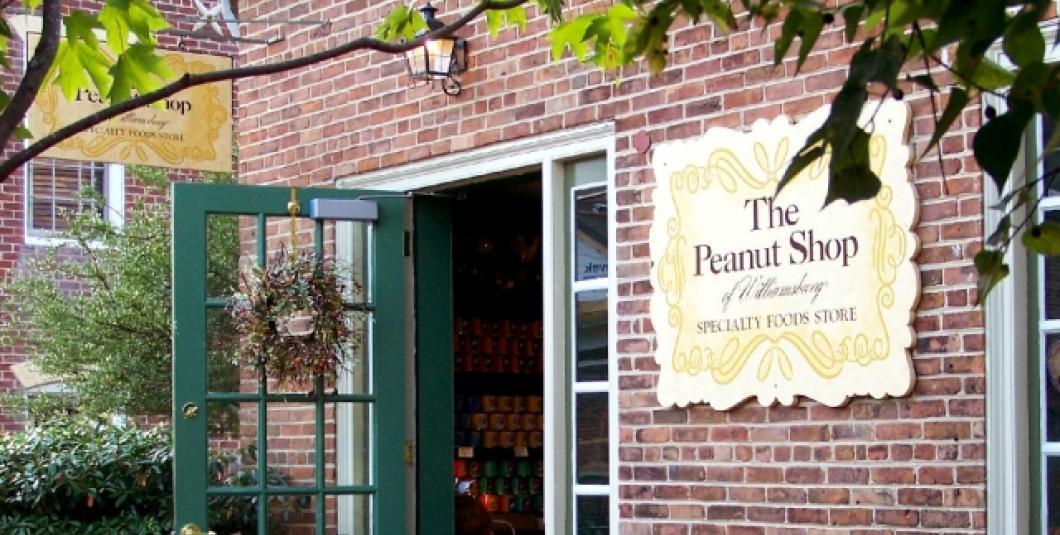 The Peanut Shop of Williamsburg