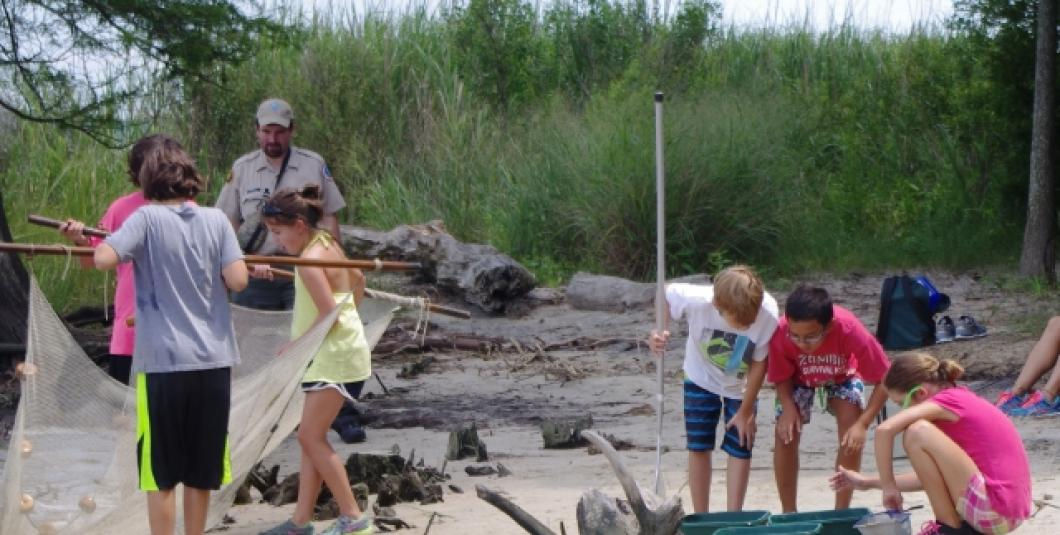 Spend time in our shoreline classroom this summer