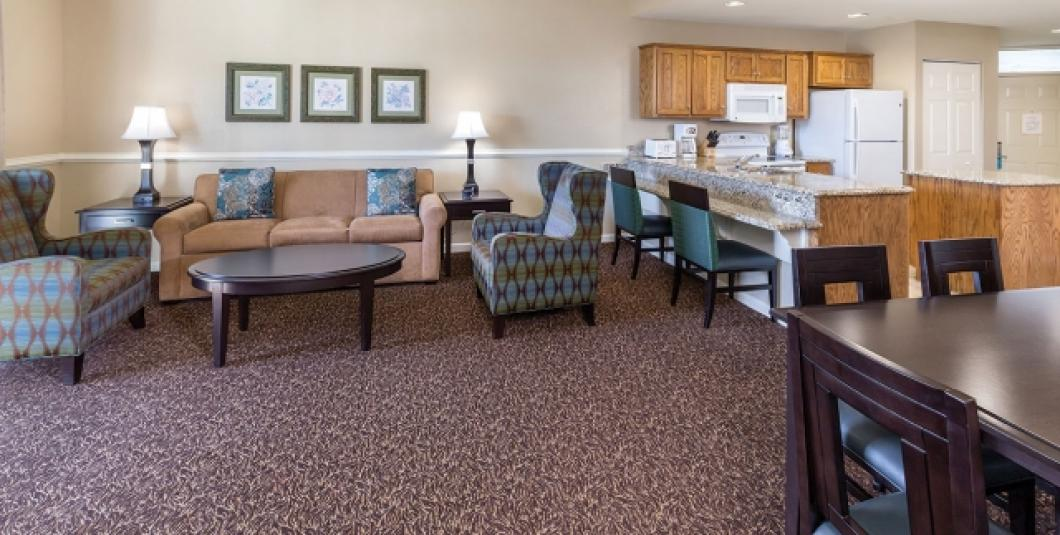 Williamsburg, VA - Wyndham Governor's Green, Living Area