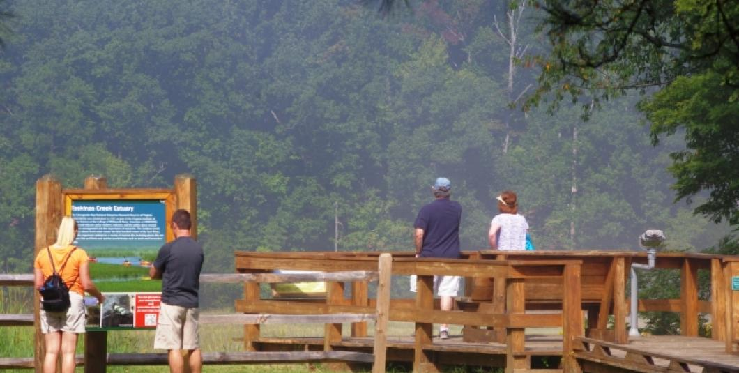 Enjoy dramatic overlooks around our Visitor's Center