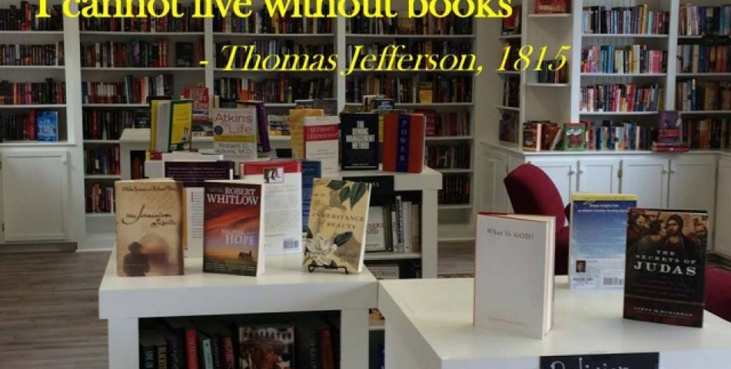 Yorktown Bookshop...come out and see us for 1/2 priced quality books of all genres!