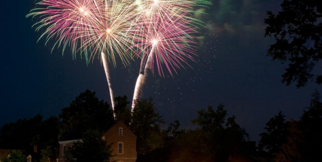 Fireworks at Grand Illumination