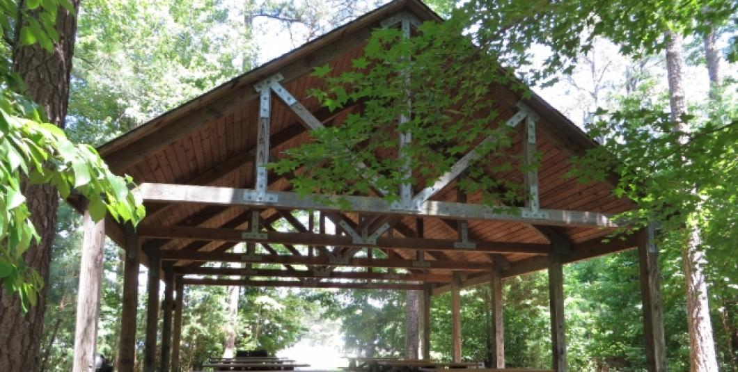 Shelter at Upper County Park