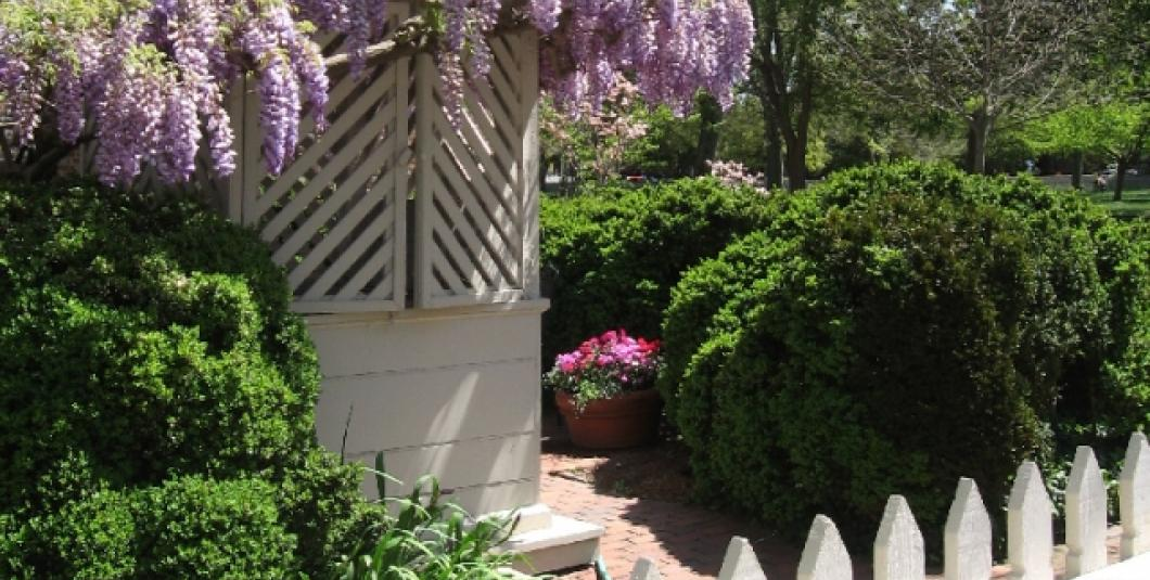 """Art and the Garden"" guided tours are available on the College of William and Mary Campus."