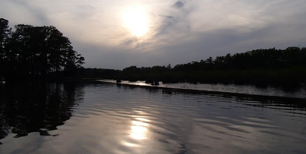Sunset on Powhatan Creek