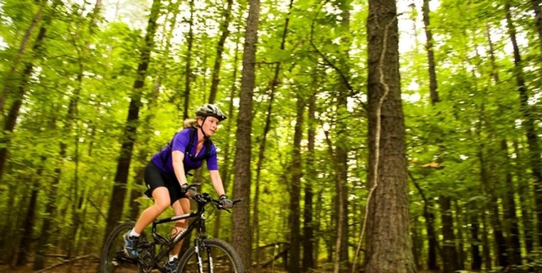 Biking at Freedom Park