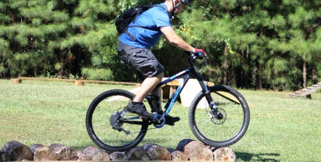 Mountain biking at Freedom Park