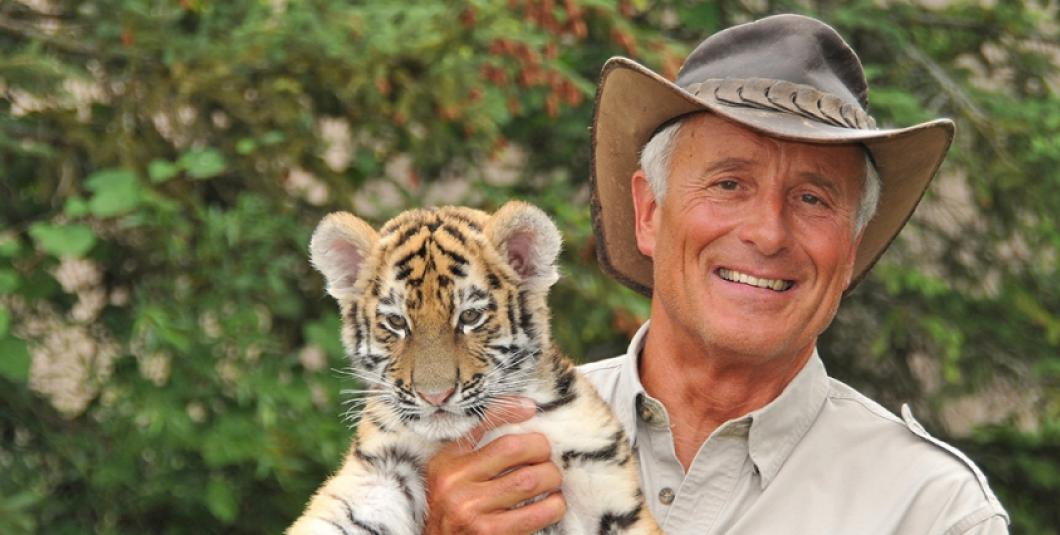 Jack Hanna at Busch Gardens Williamsburg