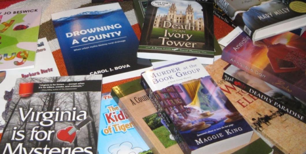 Read the Region at the Williamsburg Book Festival.