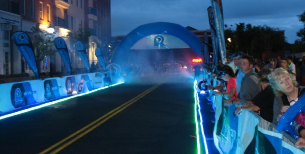 Glow Run in New Town