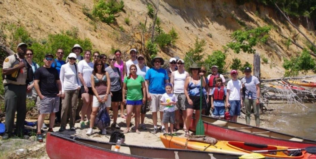 Paddle to Fossil Beach