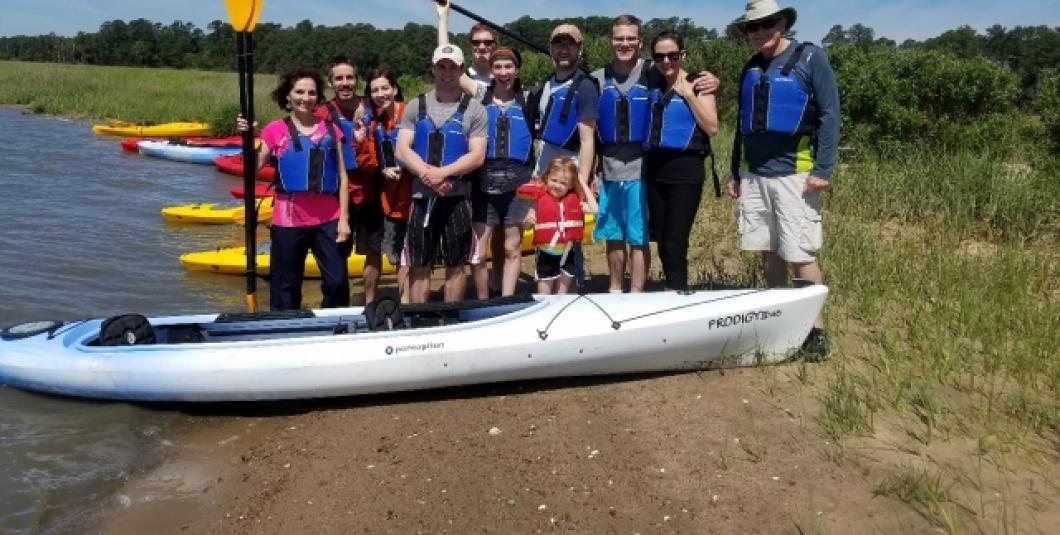 New Quarter Park family fun paddle!