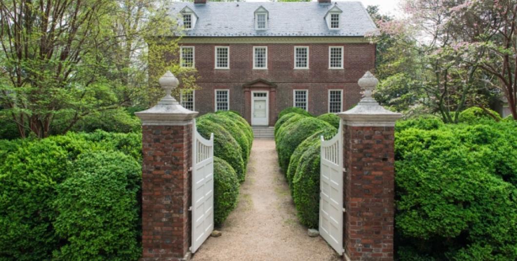 Berkeley's 1726 Georgian mansion