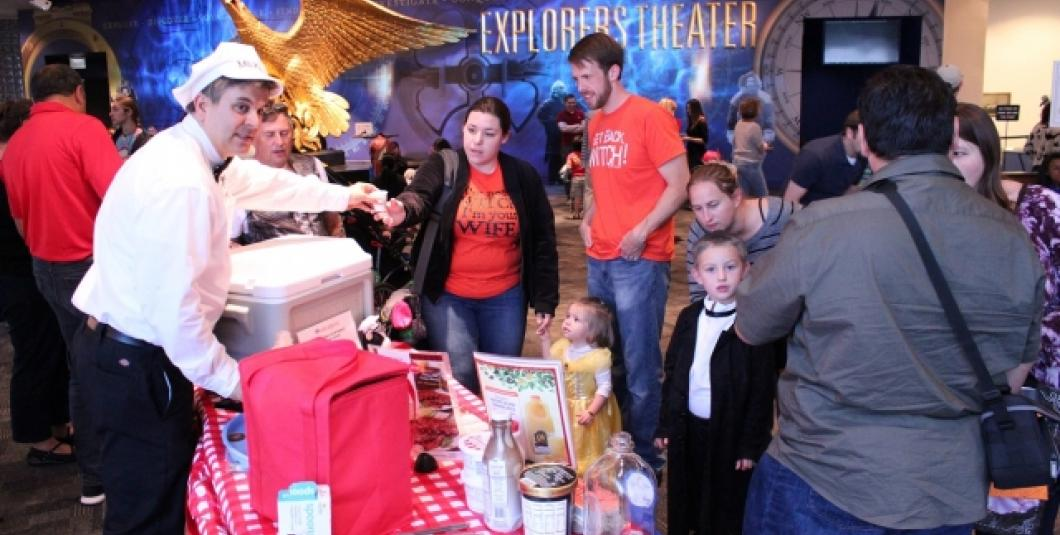 Pirate Halloween Party at The Mariners' Museum in Newport News, VA October 22