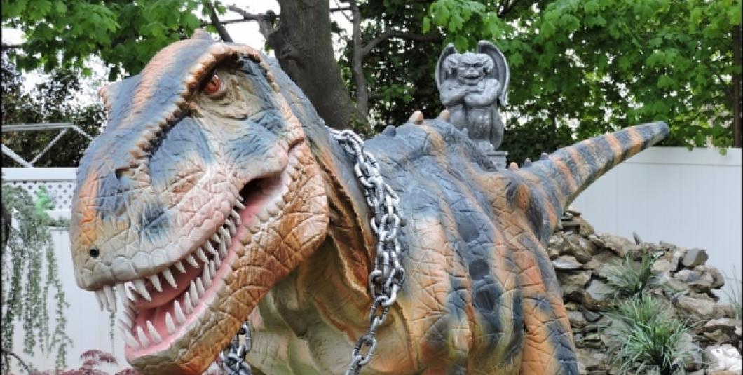 Pet a T-Rex!