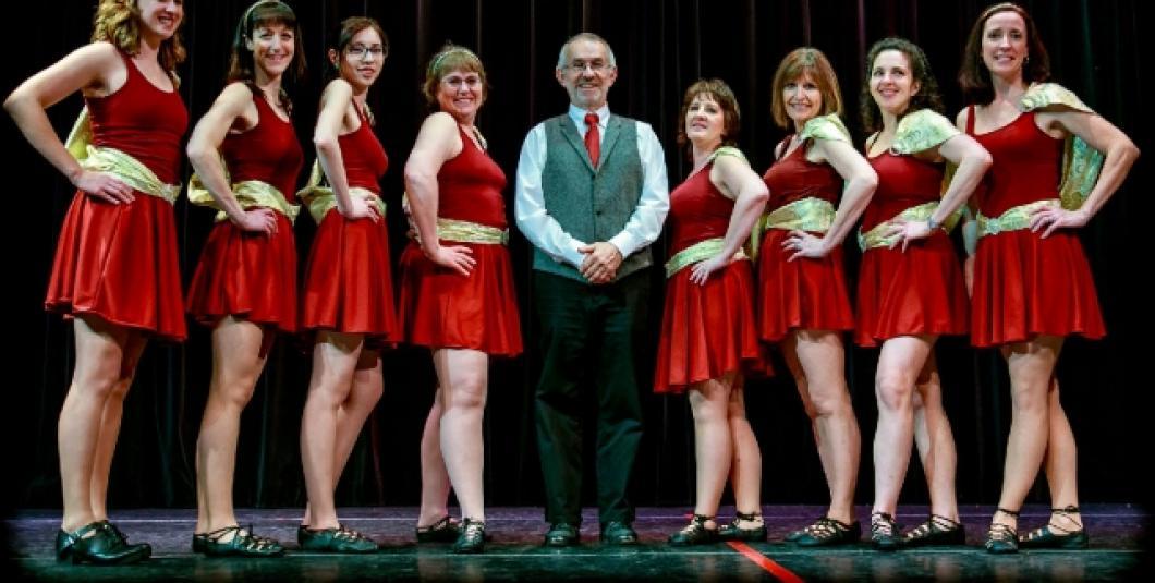 Adult Irish Dancers from Rose & Sword Academy of Irish Dance