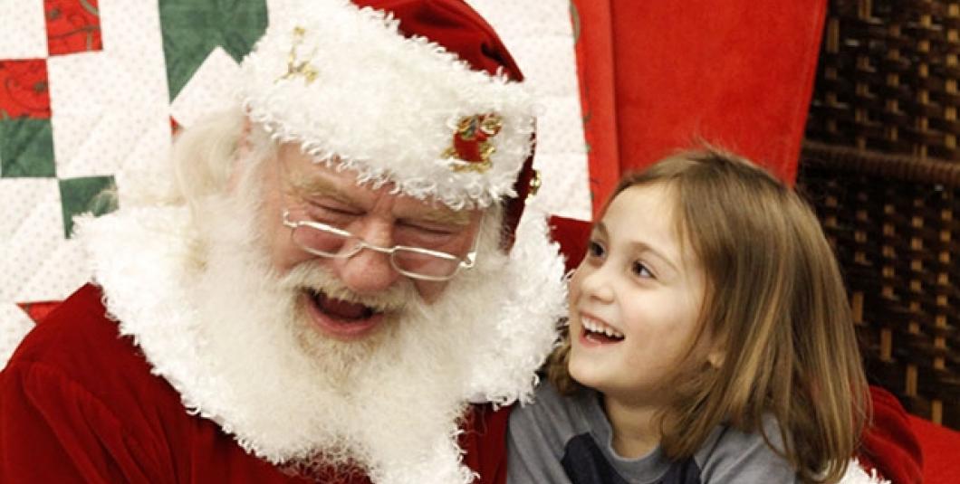 Santa love Yorktown kids!