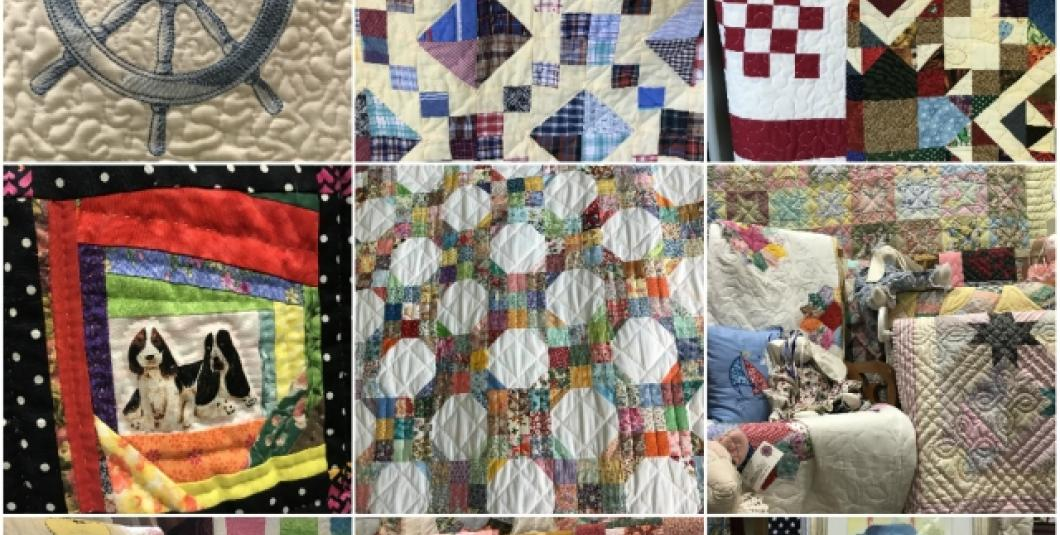 Lots of quilts at York Hall