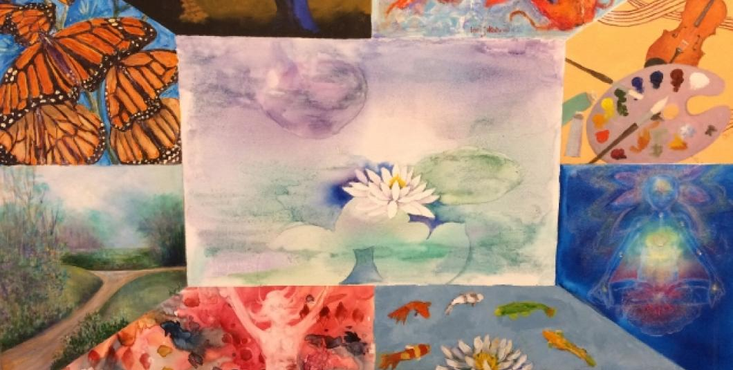 """""""Transformation"""" by Laurie Rokutani and the 9-Women Art Group"""