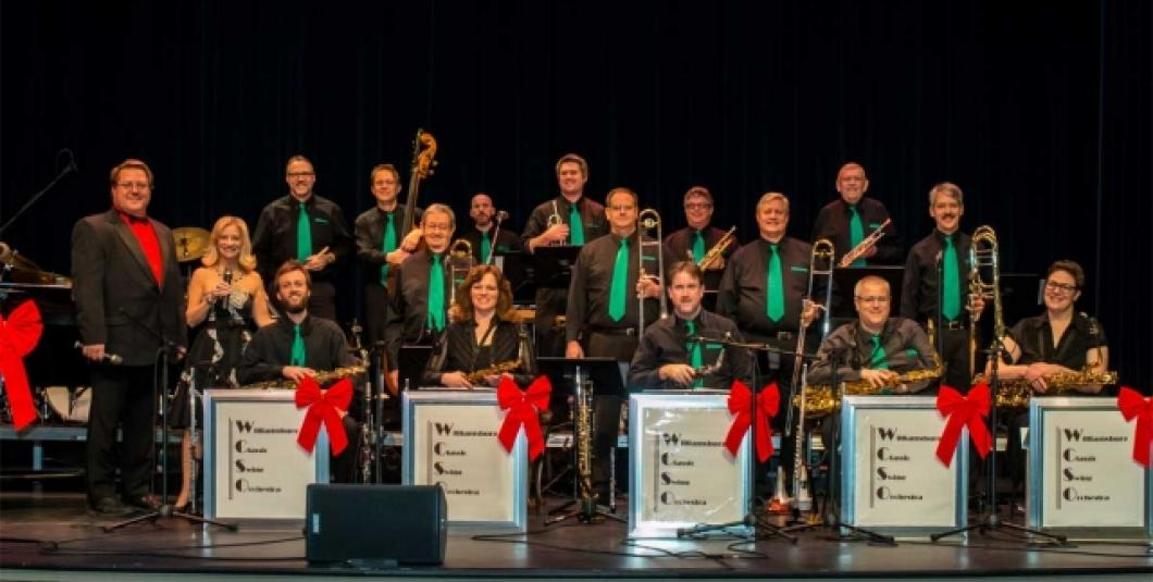 "Williamsburg Classic Swing Orchestra ""A BIG BAND CHRISTMAS"""