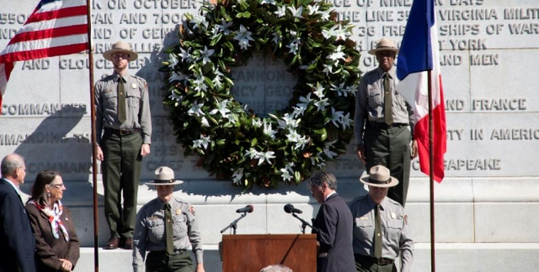 Wreath-Laying Ceremony