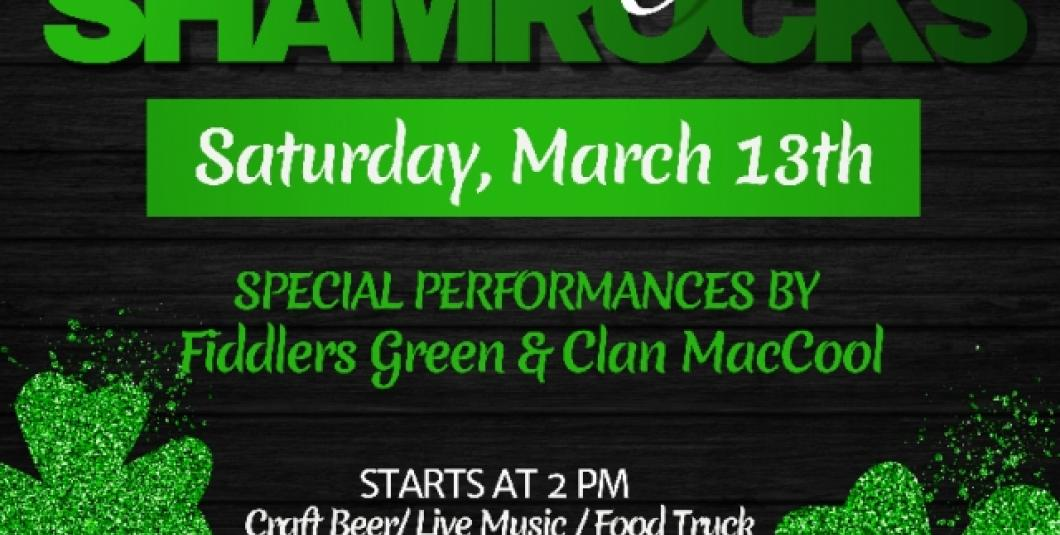 Shake Your Shamrocks at Brass Cannon Brewing