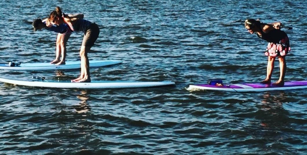 Beginner Paddle Fit on the James River