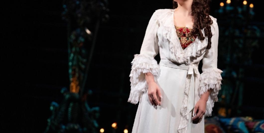 Meghan Picerno as Christine.  Phantom Broadway Promo photo credits: Matt Murphy.