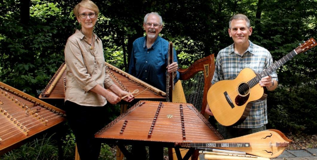 Tim Seamon Trio: Ann Robinson, Tim Seaman, Tom Abernethy