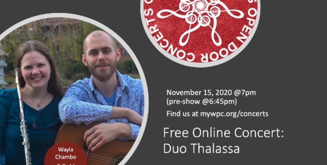 Duo Thalassa–Wayla Chambo and Todd Holcomb
