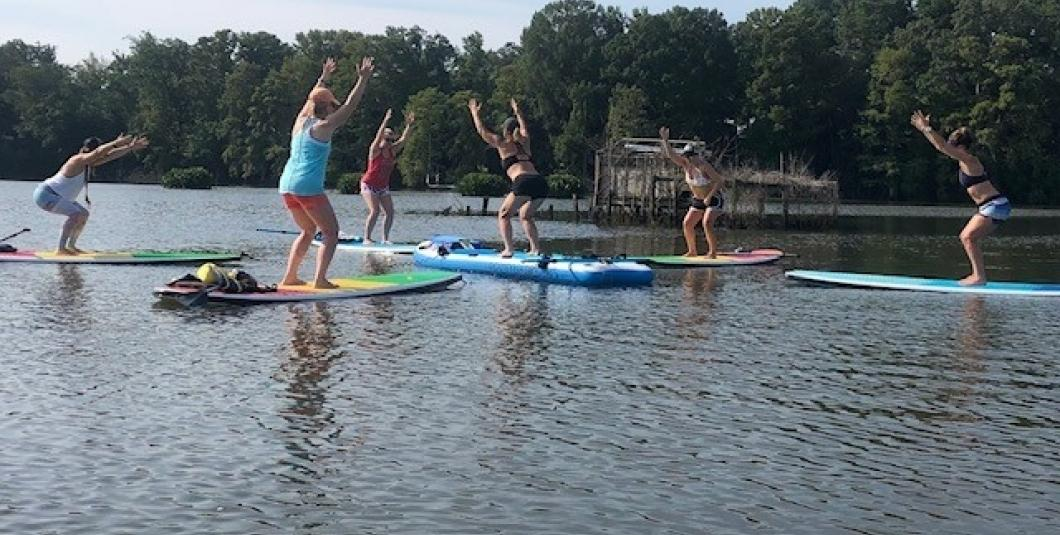 All Levels SUP Yoga on Gordon's Creek