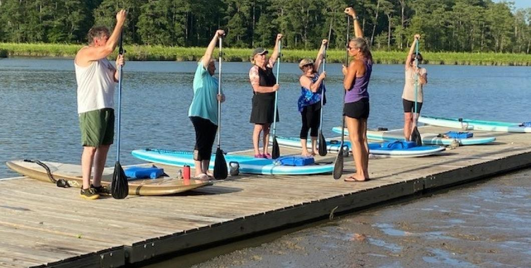 Intro to SUP Lessons at Chickahominy Riverfront Park