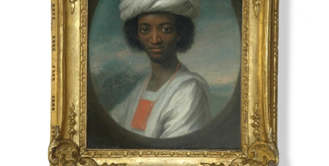A circa 1733 portrait of Ayuba Suleiman Diallo by William Hoare is one of the two earliest known portraits done from life of an African who had been enslaved in the 13 British colonies that became the United States of America. Jamestown-Yorktown Foundation collection.