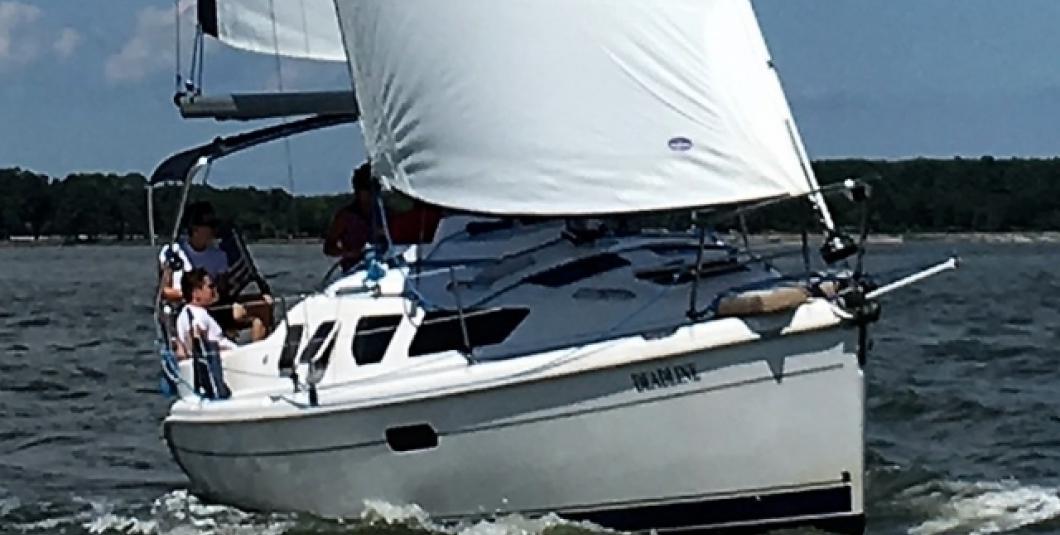 Sail the expansive York River