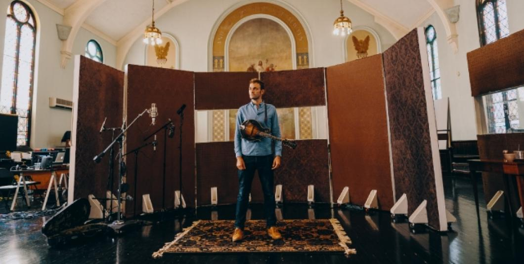 """MacArthur Fellow and Grammy Award-winning mandolinist, singer, songwriter Chris Thile, who the Guardian calls """"that rare being: an all-round musician who can settle into any style, from bluegrass to classical."""""""