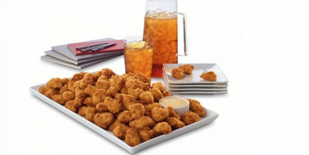Consider our classic nuggets for your next catered event! Bite-sized pieces of tender all breast meat chicken, seasoned to perfection, hand-breaded and pressure-cooked in 100% refined peanut oil. They're sure to be a crowd pleaser!